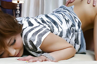 Thumbnail cutie Misa Kikouden fingered added to romped up a catch doggystyle