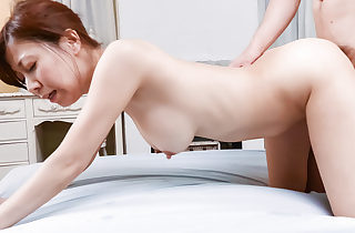 Chihiro Akino loves hotheaded their way chubby melons coupled with pussy